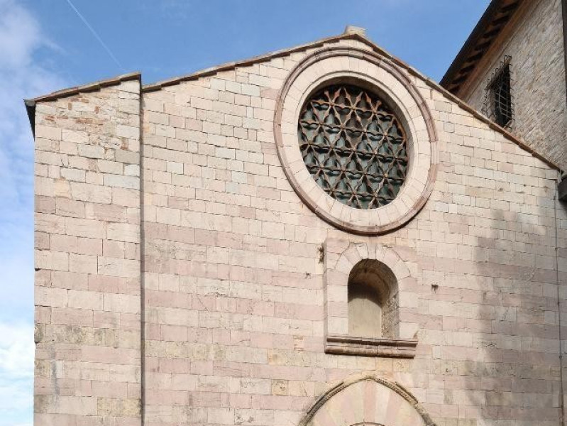 Chiesa-museo di S. Francesco. Facciata Fedeli, Marcello; jpg; 1417 pixels; 2126 pixels