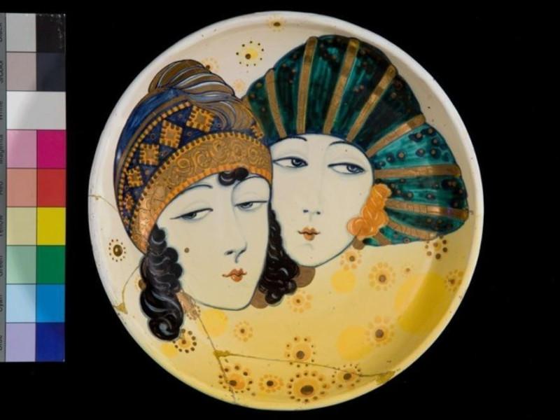Piatto in ceramica Tatge, George; jpg; 768 pixels; 512 pixels