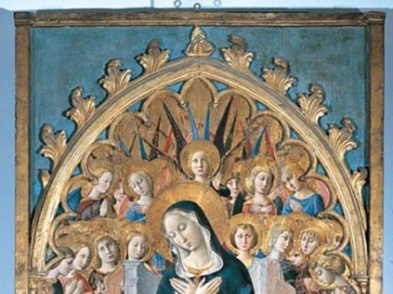 Niccolò di Liberatore, detto l'Alunno, Madonn jpg; 400 pixels; 714 pixels