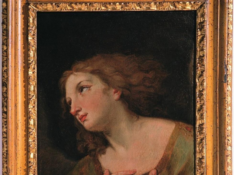 da Guido Reni, Angelo adorante, fine del XVII jpg; 752 pixels; 768 pixels