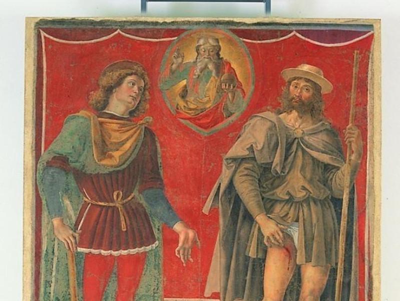 Pietro Vannucci, detto il Perugino, L'Eterno  jpg; 567 pixels; 768 pixels