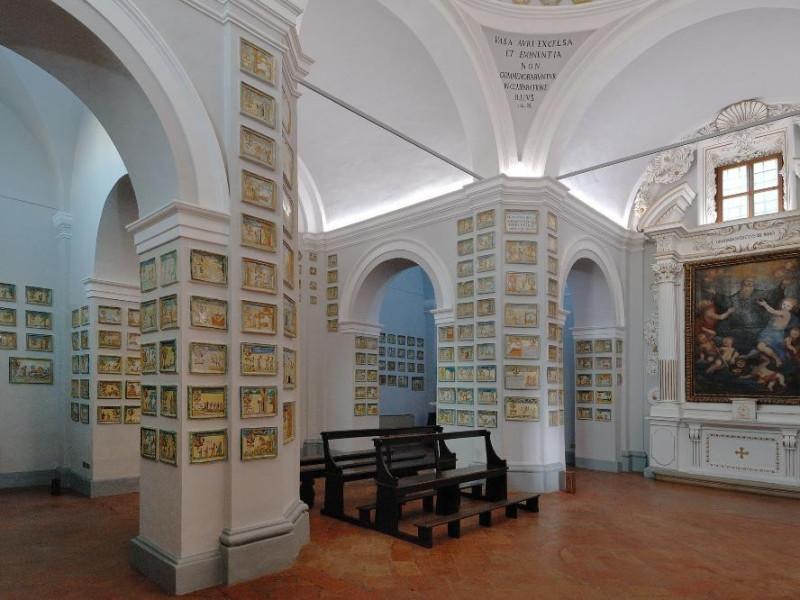 Santuario della Madonna dei Bagni. Navata Fedeli, Marcello; jpg; 2126 pixels; 1417 pixels