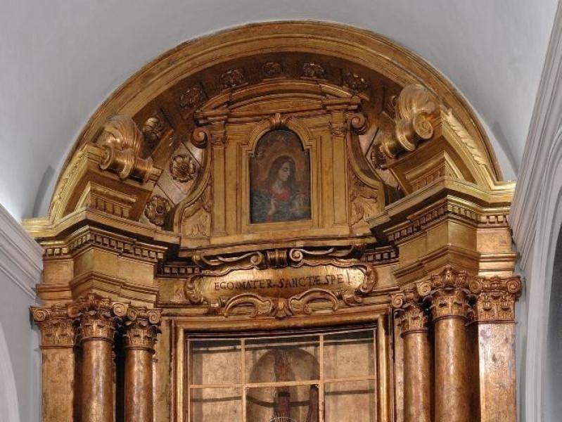 Altare della Madonna dei Bagni. Sec. XVII Fedeli, Marcello; jpg; 1417 pixels; 2126 pixels