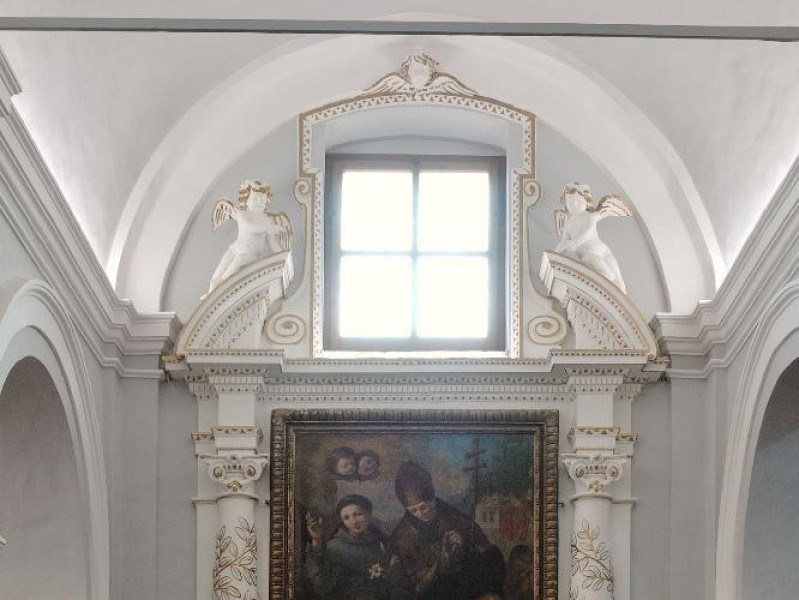 Paolo Gismondi. Dipinto. Sant'Antonio da Pado Fedeli, Marcello; jpg; 1417 pixels; 2126 pixels