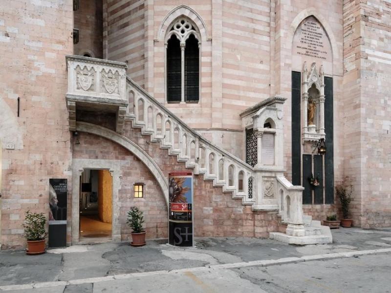 Museo capitolare diocesano. Esterno Fedeli, Marcello; jpg; 2126 pixels; 1417 pixels