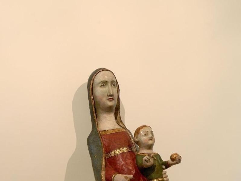 Scultura. Madonna con Gesù Bambino. Sec. XIII Fedeli, Marcello; jpg; 1417 pixels; 2126 pixels