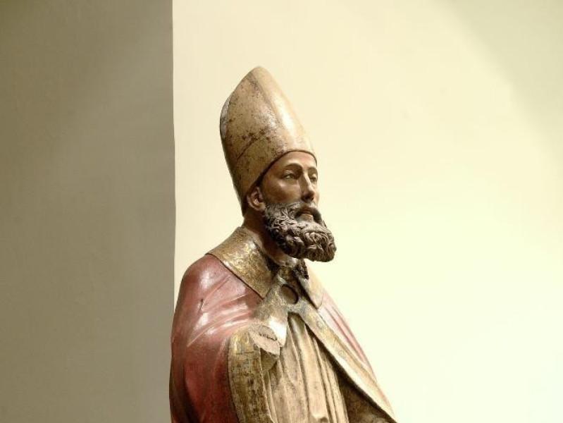 Statua. S. Feliciano. Sec. XV Fedeli, Marcello; jpg; 1417 pixels; 2126 pixels