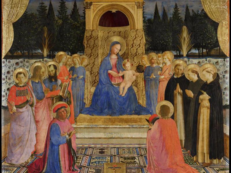 Beato Angelico, Pala di San Marco 1438-1443