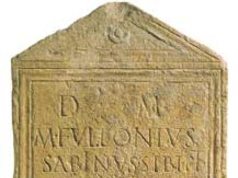 Stele funeraria Giorgetti, Alessio/ Tatge George; jpg; 217 pixels; 300 pixels