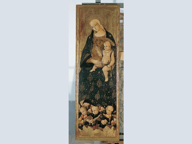 Girolamo di Matteo da Gualdo, Madonna con il  Giorgetti, Alessio; jpg; 400 pixels; 1045 pixels