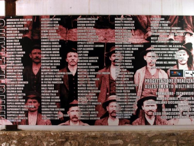 Ingresso del museo, pannello illustrativo Bellu, Sandro; jpg; 929 pixels; 622 pixels