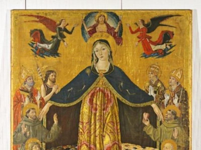 Bartolomeo Caporali, Madonna della Misericord Bellu, Sandro/ Castignani, Sante; jpg; 400 pixels; 541 pixels