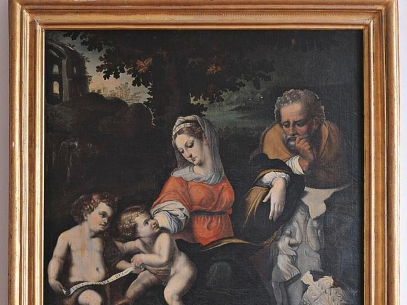 Pittore della prima metà del XVII secolo, Sac Bellu, Sandro/ Castignani, Sante; jpg; 685 pixels; 768 pixels