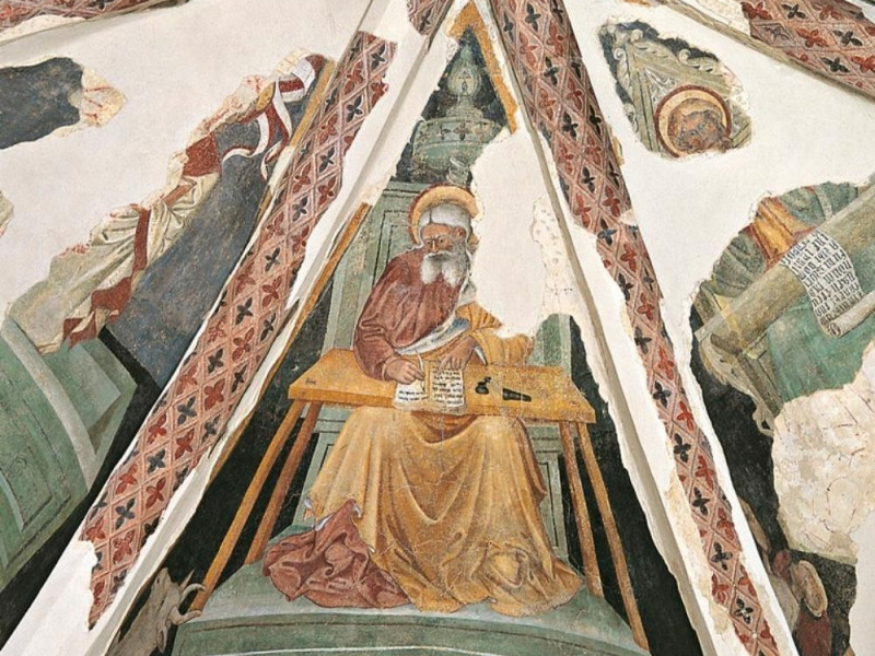Abside, evangelisti Bellu, Sandro/ Castignani, Sante; jpg; 768 pixels; 768 pixels