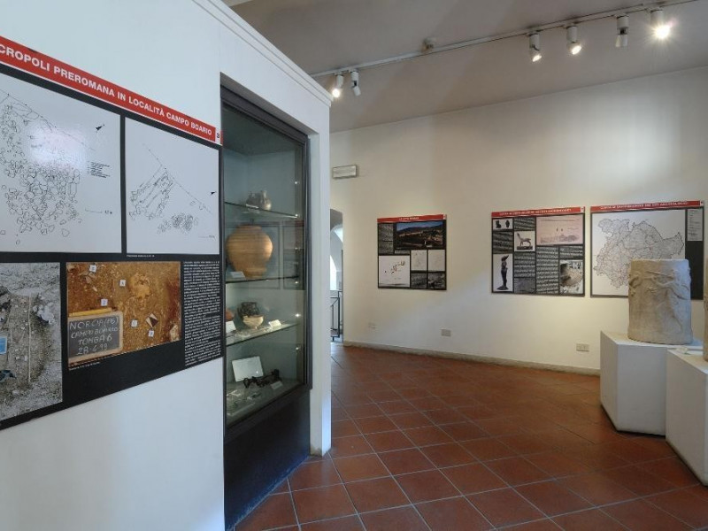 Mostra archeologica permanente presso il crip Fedeli, Marcello; jpg; 2126 pixels; 1417 pixels