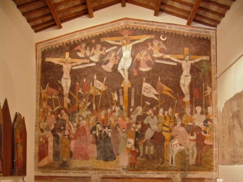 Museo san Giuseppe. Allestimento interno. Bovini, Mirko; jpg; 697 pixels; 768 pixels