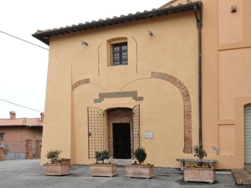 Chiesa di S. Sebastiano. Facciata. Fedeli, Marcello; jpg; 2126 pixels; 1417 pixels