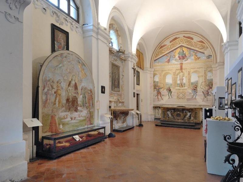 Chiesa di S. Sebastiano. Navata centrale. Fedeli, Marcello; jpg; 2126 pixels; 1417 pixels
