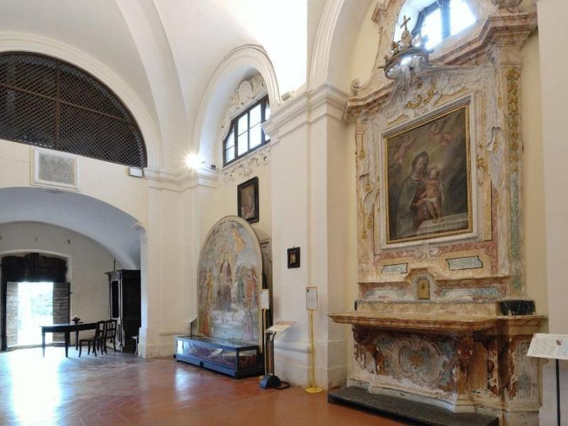 Chiesa di S. Sebastiano. Navata, lato sinistr Fedeli, Marcello; jpg; 2126 pixels; 1417 pixels
