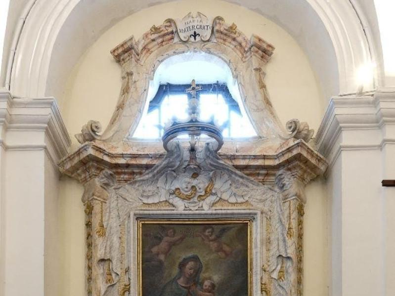 """""""Madonna con Gesù Bambino e angeli reggicoron Fedeli, Marcello; jpg; 1417 pixels; 2126 pixels"""