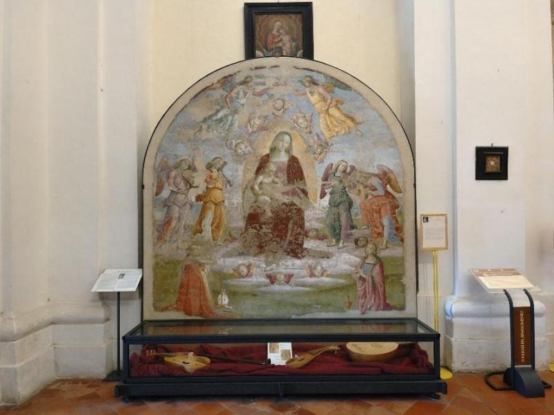 """Pietro Vannucci detto il Perugino. """"Madonna c Fedeli, Marcello; jpg; 2126 pixels; 1417 pixels"""