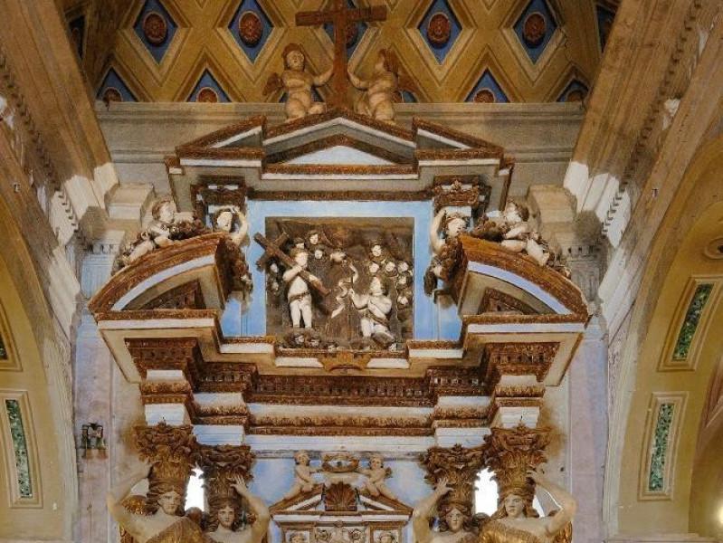 Altare della Madonna della Sbarra (sec. XVIII Fedeli, Marcello; jpg; 1417 pixels; 2126 pixels