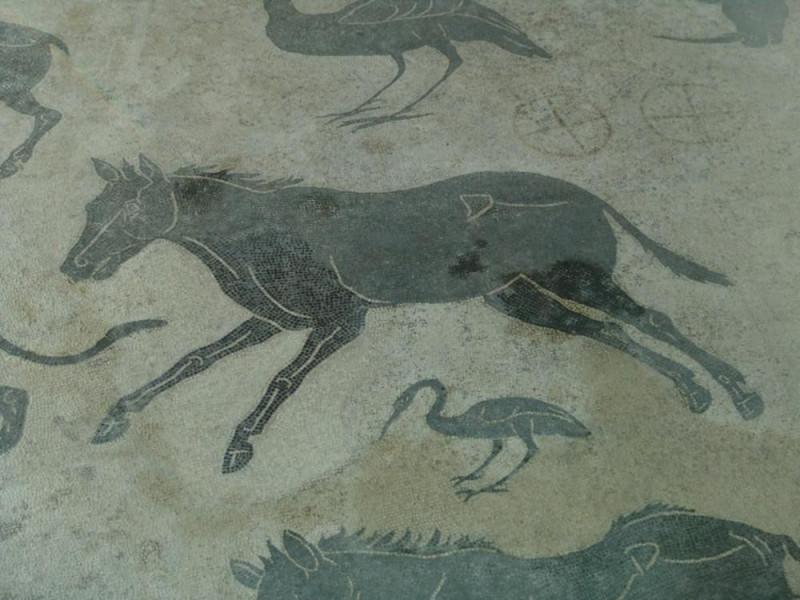 Mosaico di Sant' Elisabetta, particolare. Bovini, Mirko; jpg; 768 pixels; 576 pixels