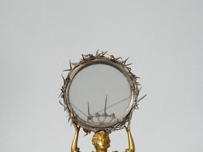 Museo dell'Abbazia di S. Eutizio. Reliquiario jpg; 1417 pixels; 2126 pixels