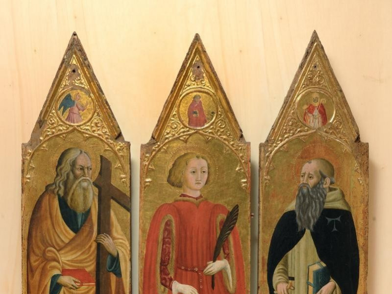Ambito toscano, Trittico con S. Vito, Sant'An jpg; 1417 pixels; 1768 pixels