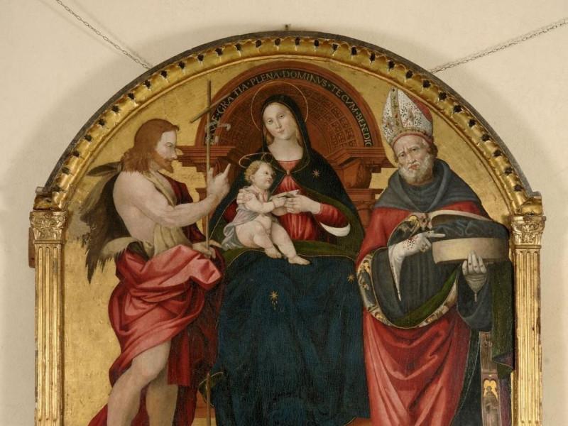 "Maestro di Piedivalle, ""Madonna con Gesù Bamb jpg; 1417 pixels; 1428 pixels"