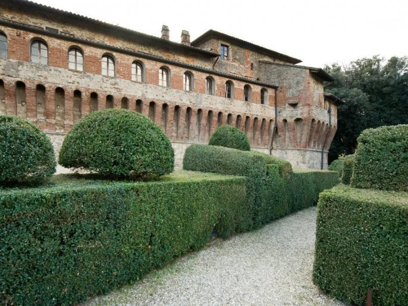 Castello Bufalini. Esterno e particolare del  Parco Tecnologico 3A-Progetto Ville e Giardini Regione Umbria; jpg; 1936 pixels; 1296 pixels