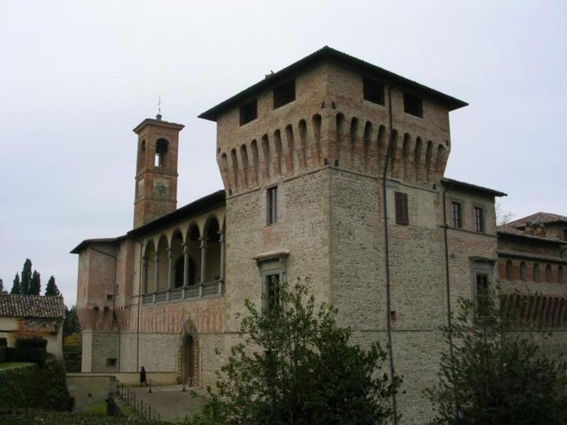 Castello Bufalini. Esterno. Parco Tecnologico 3A-Progetto Ville e Giardini Regione Umbria; jpg; 768 pixels; 576 pixels