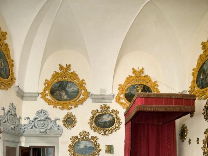 Castello Bufalini. Interno. Stanza da letto d ; jpg; 1296 pixels; 1936 pixels