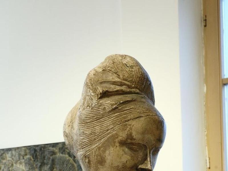 "Collezione permanente Emilio Greco. ""Testa di jpg; 1417 pixels; 2126 pixels"