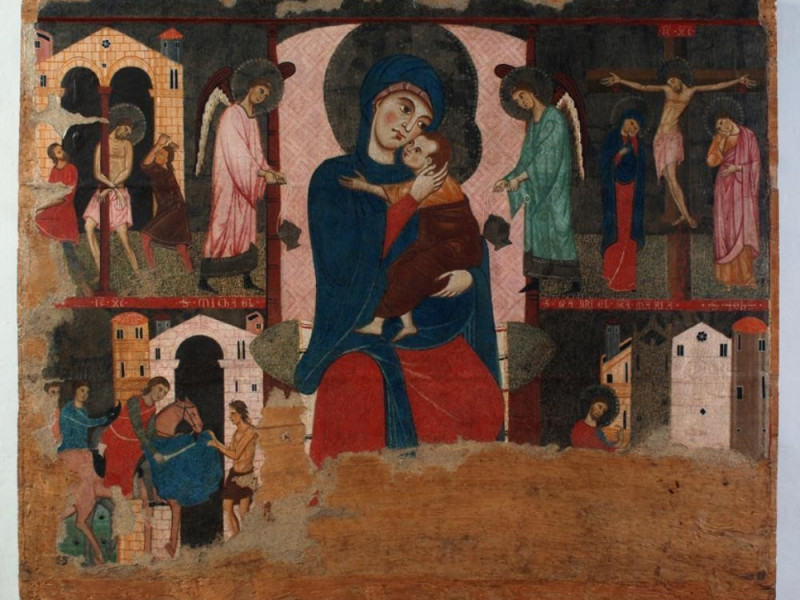 Museo diocesano e Basilica di Santa Eufemia.  Bellu, Sandro; jpg; 833 pixels; 693 pixels