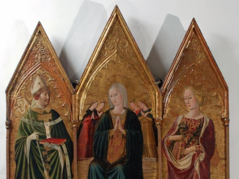 Museo diocesano e Basilica di Santa Eufemia.  Bellu, Sandro; jpg; 667 pixels; 859 pixels
