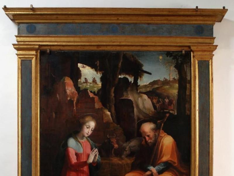 Museo diocesano e Basilica di Santa Eufemia.  Bellu, Sandro; jpg; 695 pixels; 831 pixels