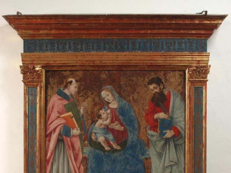 Museo diocesano e Basilica di Santa Eufemia.  Bellu, Sandro; jpg; 724 pixels; 794 pixels