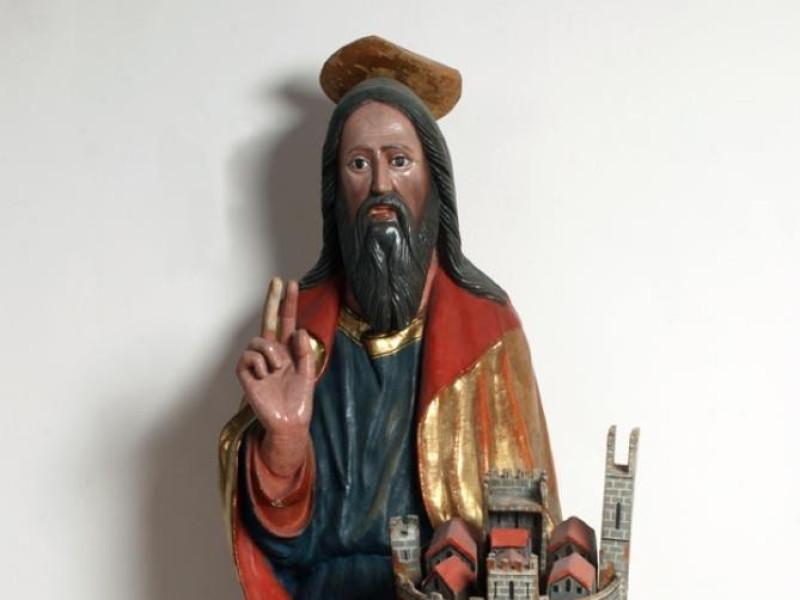 Museo diocesano e Basilica di Santa Eufemia.  Bellu, Sandro; jpg; 622 pixels; 929 pixels