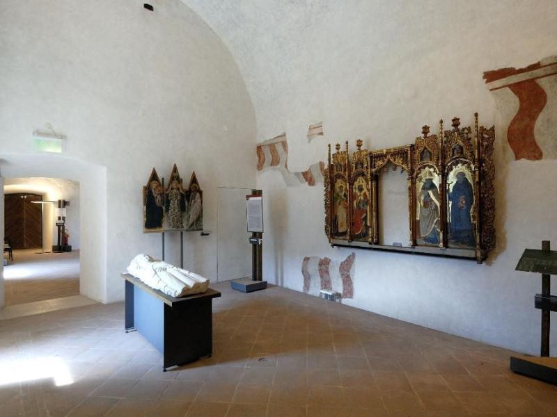 Museo Nazionale del Ducato di Spoleto. Sala 1 ; jpg; 2126 pixels; 1417 pixels