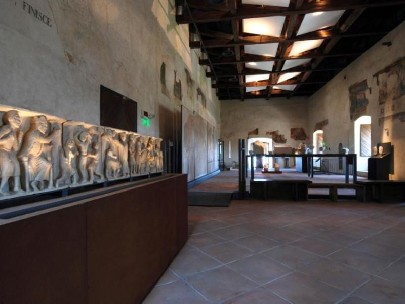 Museo Nazionale del Ducato di Spoleto. Allest Archivio fotografico BAPPSAE dell'Umbria/ Bellu, Sandro; jpg; 929 pixels; 622 pixels
