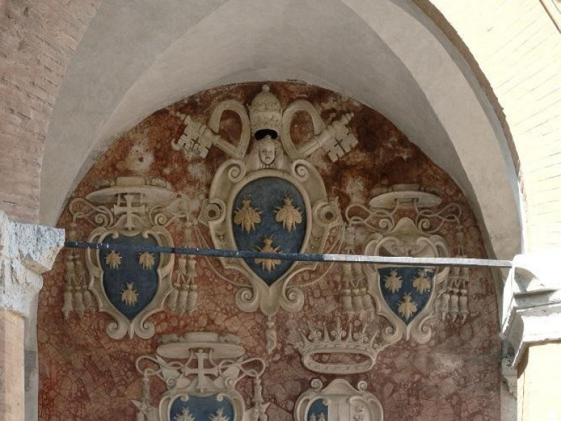 Rocca Albornoziana. Cortile d'Onore. Loggiato Fedeli, Marcello; jpg; 1417 pixels; 2126 pixels