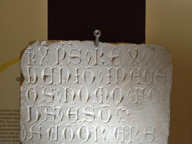 Complesso delle Lucrezie e Lapidarium. Epigra jpg; 1417 pixels; 2126 pixels