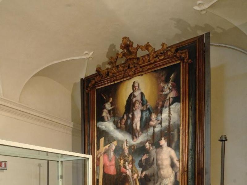 Museo di Santa Croce. Niccolò Circignani dett jpg; 1417 pixels; 2126 pixels