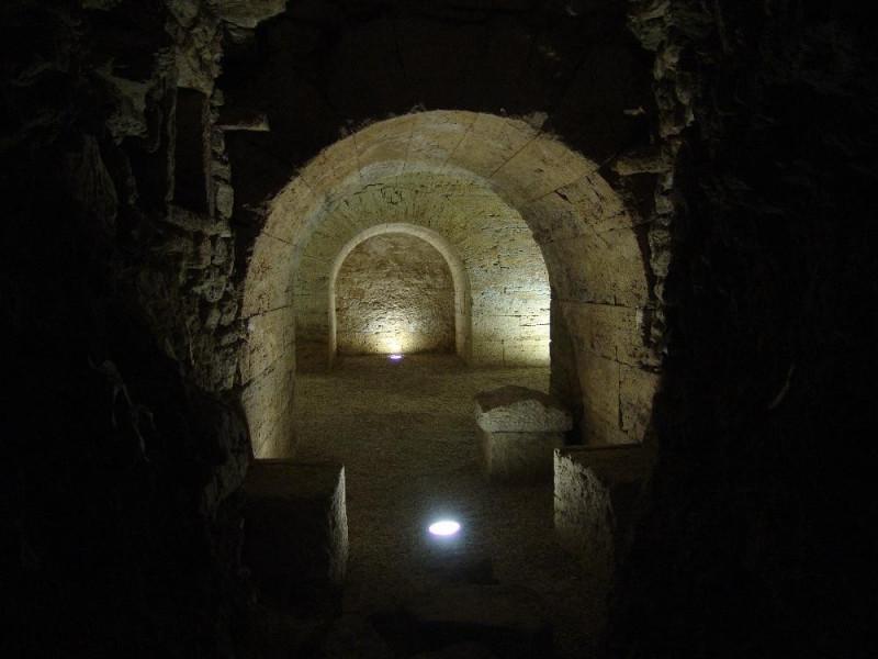 Ipogeo di San Manno. Interno. Bovini, Mirko; jpg; 3264 pixels; 2448 pixels