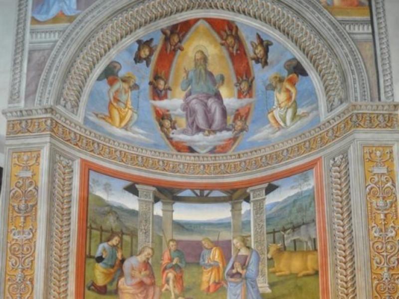 Perugino, Natività, 1503 jpg; 510 pixels; 768 pixels