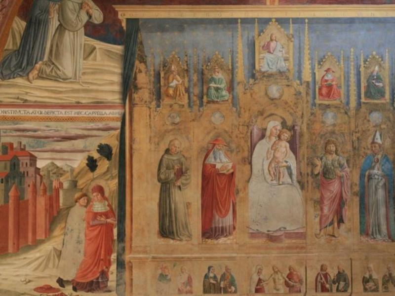 Benozzo Gozzoli, Cappella di San Girolamo, 14 jpg; 768 pixels; 512 pixels