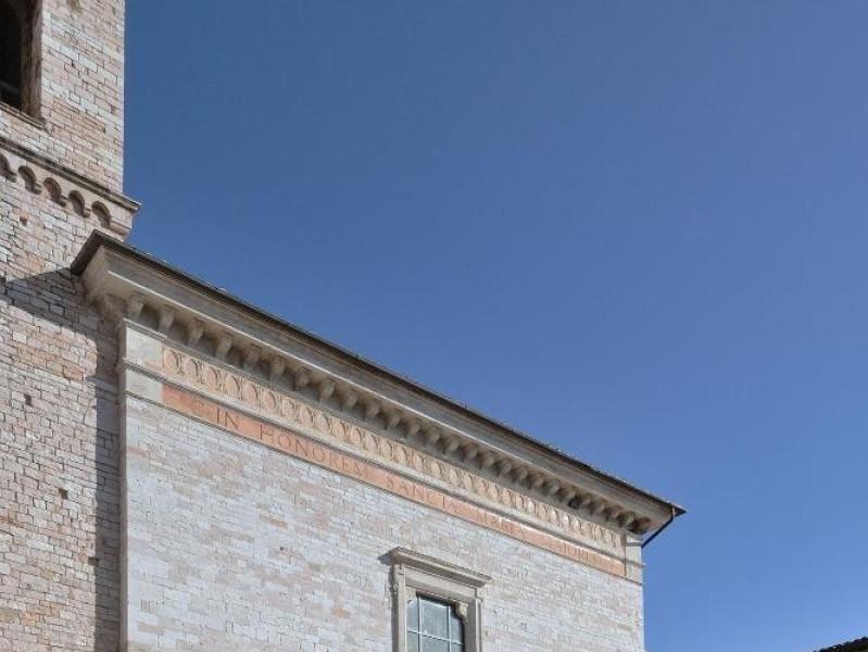Collegiata di Santa Maria Maggiore. Facciata. Fedeli, Marcello; jpg; 1417 pixels; 2126 pixels