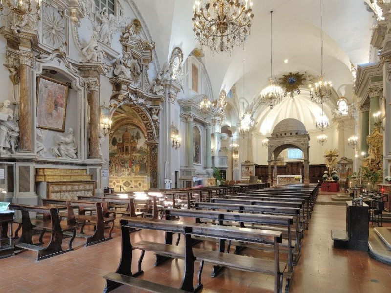 Collegiata di Santa Maria Maggiore. Navata. Fedeli, Marcello; jpg; 2126 pixels; 1417 pixels