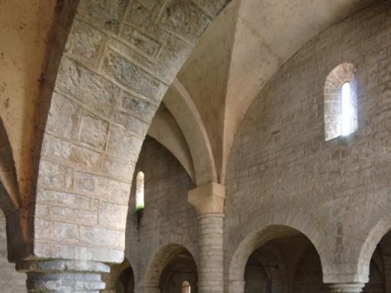 Basilica di Sant'Eufemia. Interno, matronei. jpg; 622 pixels; 929 pixels